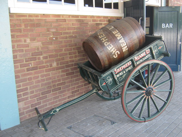 Shepherd Neame Barrel and Cart