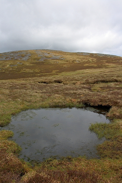 Pond, 800m height Ben Chonzie