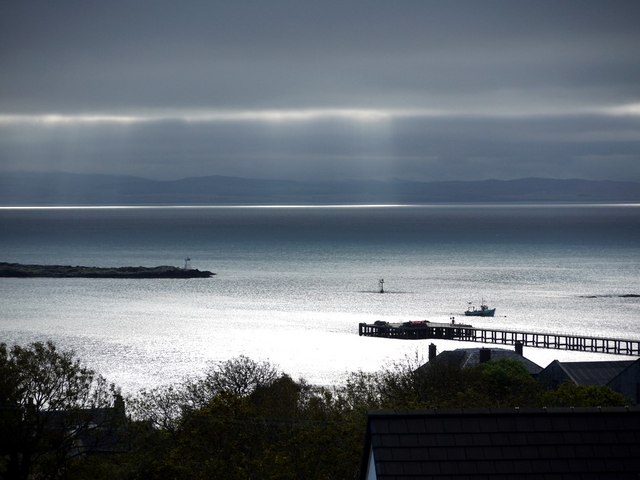 Craighouse Pier and the Sound of Jura