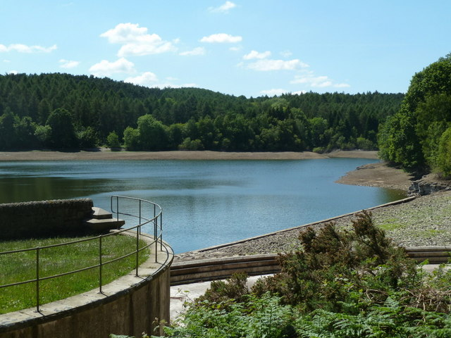 The middle reservoir after a dry spring