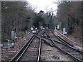 TQ3966 : Railway lines west of Hayes (Kent) station by Mike Quinn