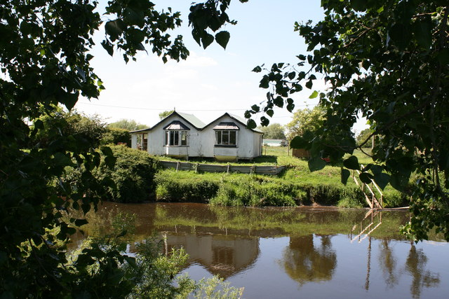 Chalet on the River Dee