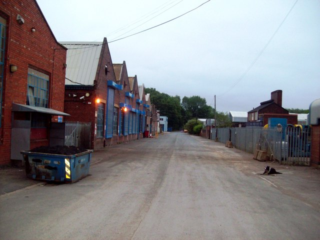 Industrial Buildings on Club Mill Road