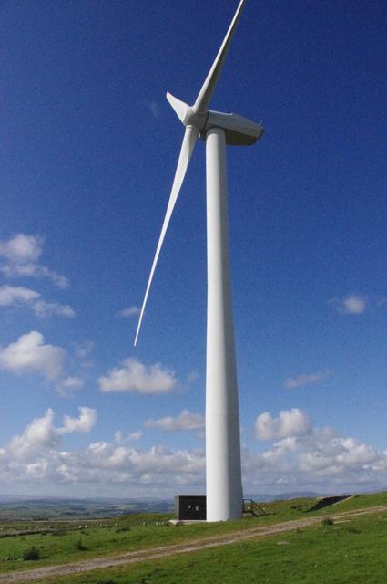 Caton Moor wind turbine