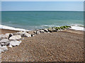 TQ8109 : Rock Groyne at Pelham Beach by Oast House Archive