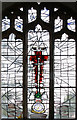 TG0117 : All Saints, Swanton Morley - Memorial window by John Salmon