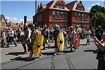 SJ4066 : Chester Roman Festival 2011 by Jeff Buck
