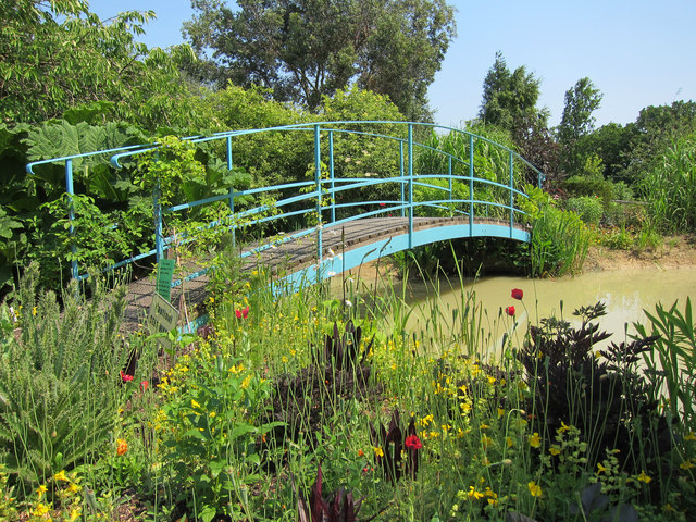 Monet bridge at Merriments Gardens