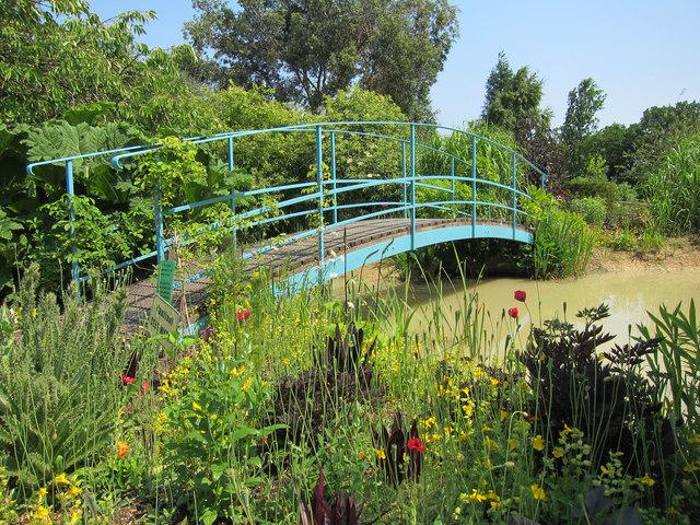 Monet bridge at Merriments Gardens