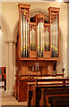 TQ5586 : St Laurence, Upminster - Organ by John Salmon