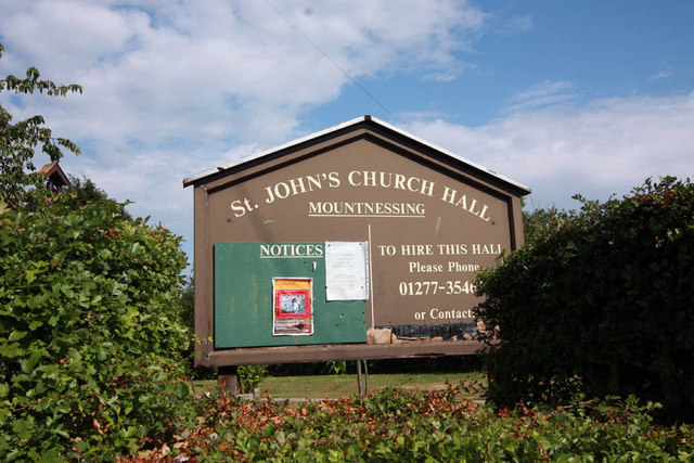 St John's Church, Mountnessing - Now the church hall