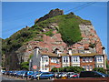 TQ8109 : West Hill cliff and Hastings Castle by Oast House Archive