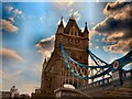 TQ3380 : Tower Bridge Northern Tower by Paul Gillett