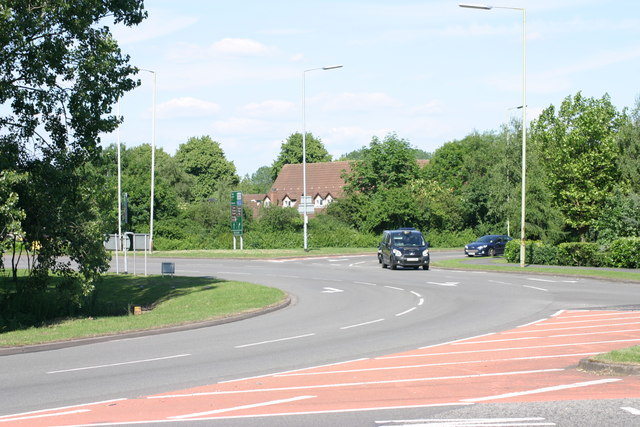 Traffic Island, next to Bitterscote Drive  (2)