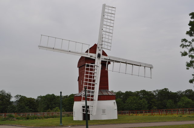 Madingley Post Mill