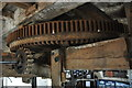 TL4574 : Haddenham Great Mill - Great Spur Wheel by Ashley Dace