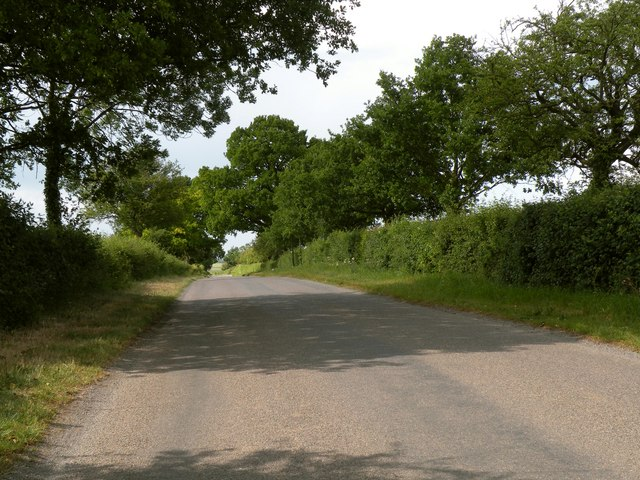 Part of the country road called Finch Hill