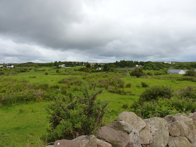 West of  top of Cappagh