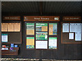 TM1930 : Information Board, RSPB Stour Estuary by Roger Jones