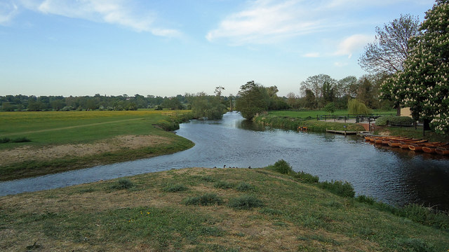The Stour from Dedham Bridge