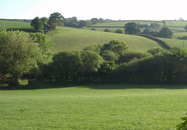 Swine valley near Calverleigh