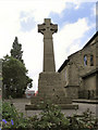 SJ9398 : War Memorial, St Mark's Church, Dukinfield by David Dixon