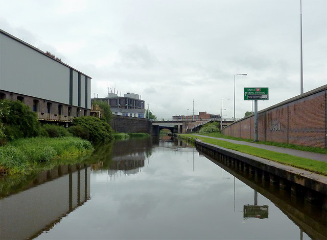 Trent and Mersey Canal in Stoke-on-Trent