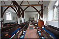 TQ5498 : St Thomas the Apostle, Navestock - West end by John Salmon