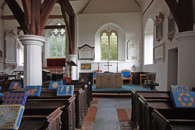 St Thomas the Apostle, Navestock - South aisle