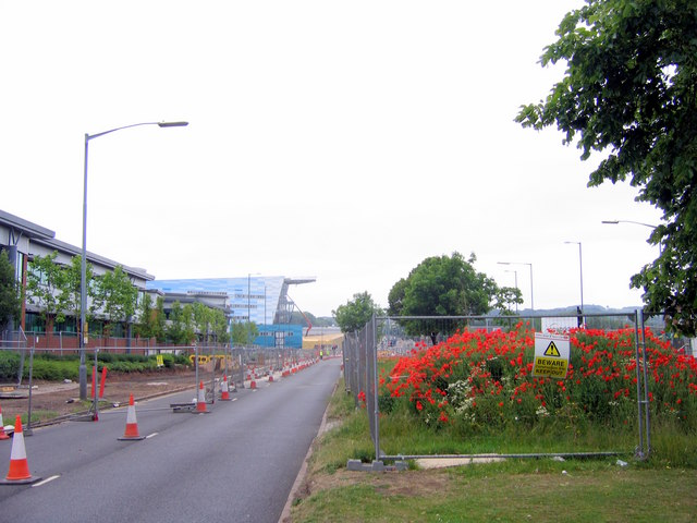 Longbridge - Poppies & Roadworks