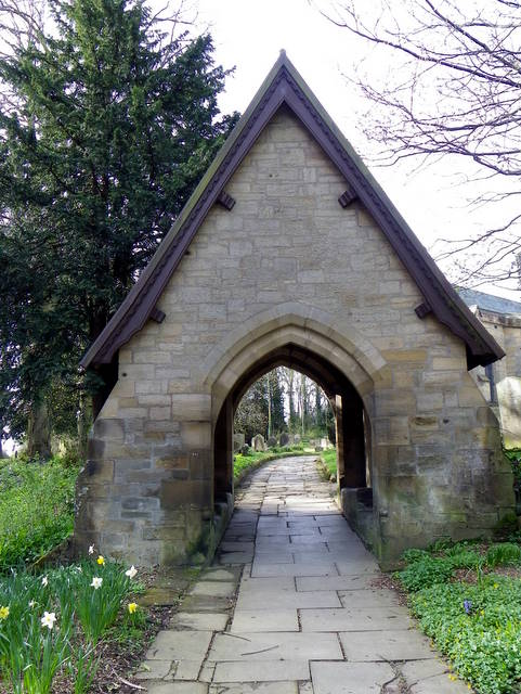 Lych Gate, St Mary's Church, Morpeth