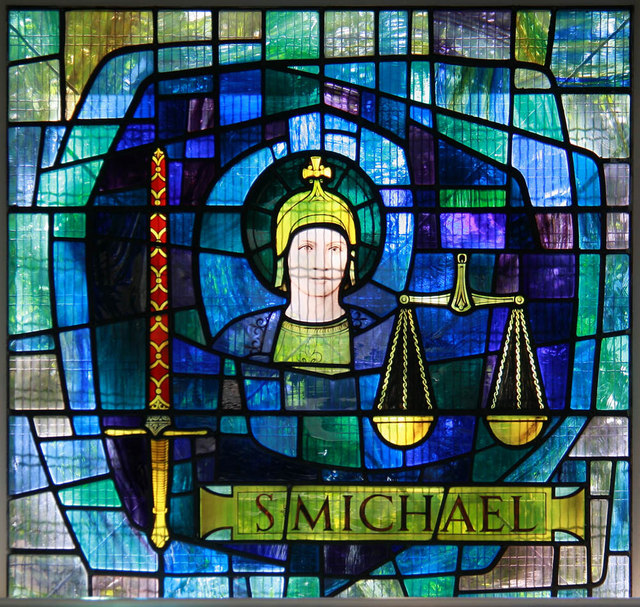 St Michael & All Angels, Wyndham Road - Stained glass window