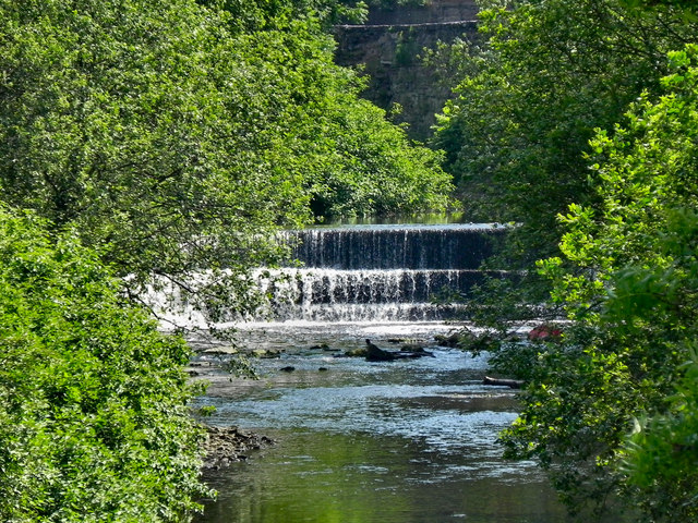 Weir on the River Tame, Dukinfield