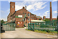 SJ9498 : Tame Valley Mill, Park Road by David Dixon