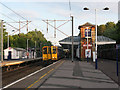 TL3112 : Hertford North station - platform 2 by Stephen Craven
