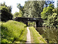 SJ9396 : Well Bridge, Peak Forest Canal by David Dixon