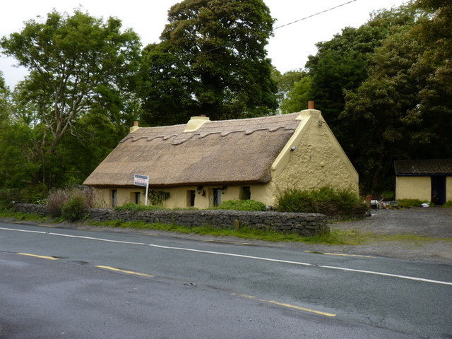 Thatched Cottage near Oughterad