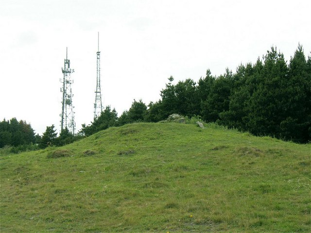Windmill Ruin on Kilvey Hill