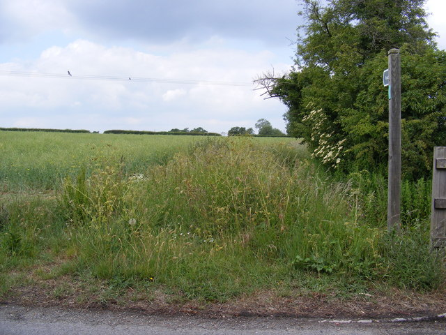 Footpath to World's End Road