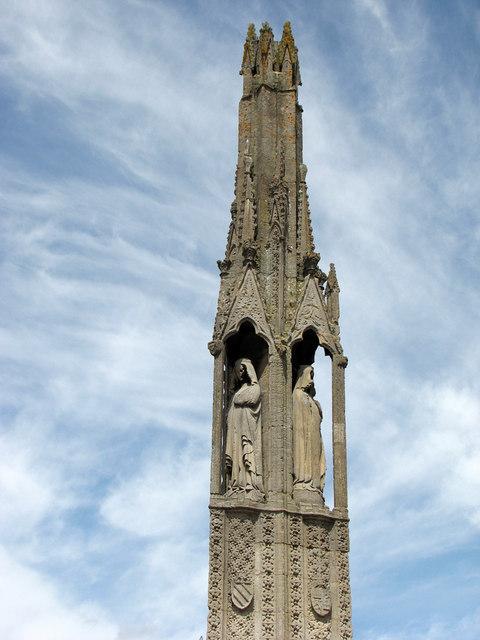 Geddington Eleanor Cross - detail