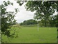 SE1938 : Undercliffe Amateur Rugby League Football Club Ground - Apperley Lane by Betty Longbottom