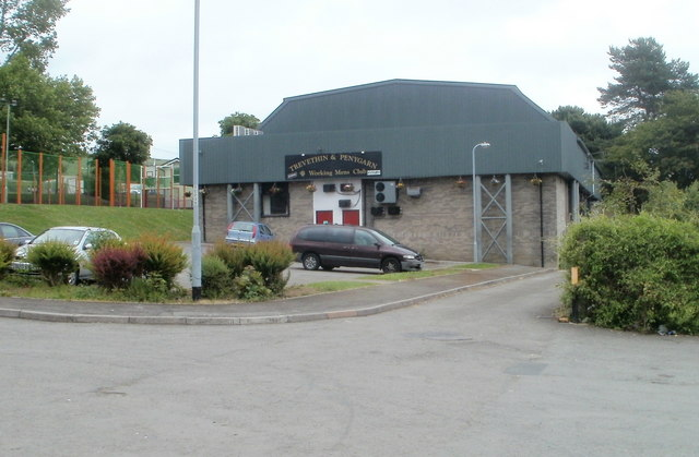 Trevethin & Penygarn Working Mens Club, Pontypool