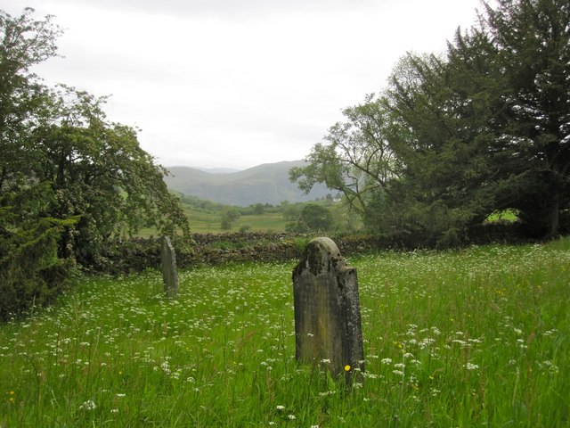 Matterdale Churchyard, a wildflower nature reserve