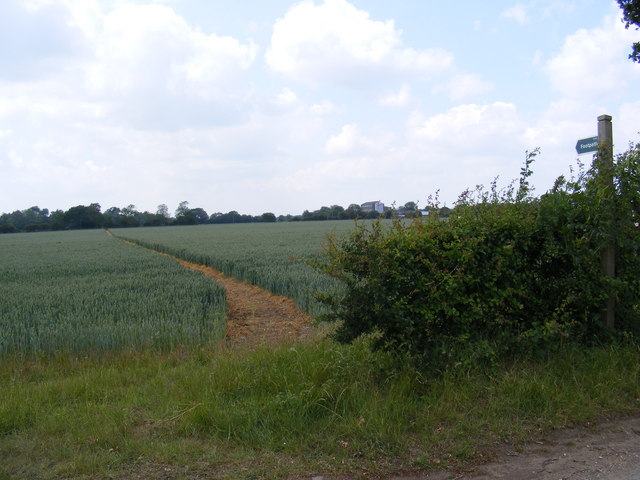 Footpath to Potash Farm