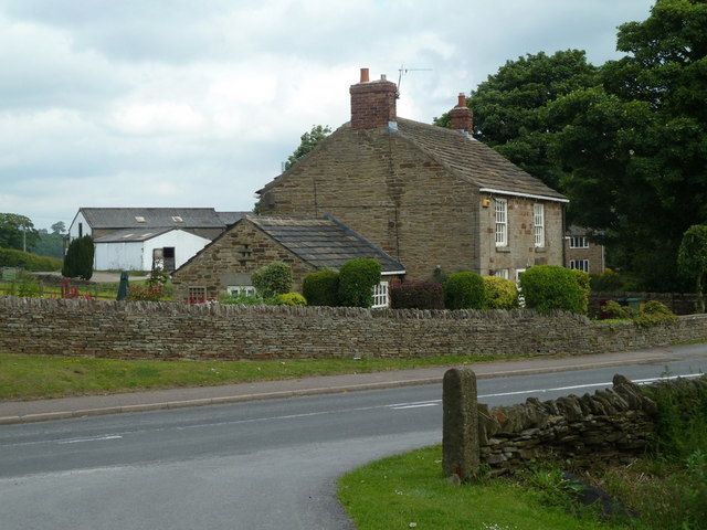 Road and house at Hemming Green