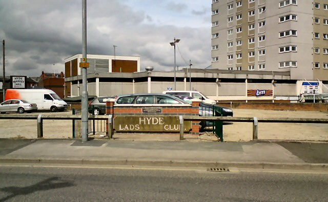 Site of Hyde Lads Club