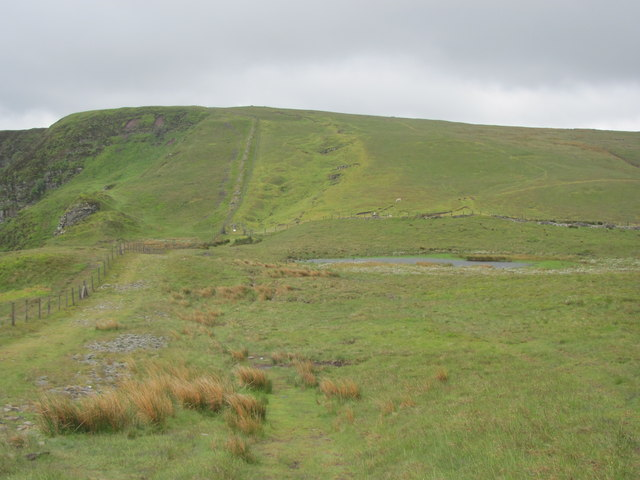 Moorland south of Fan Frynych