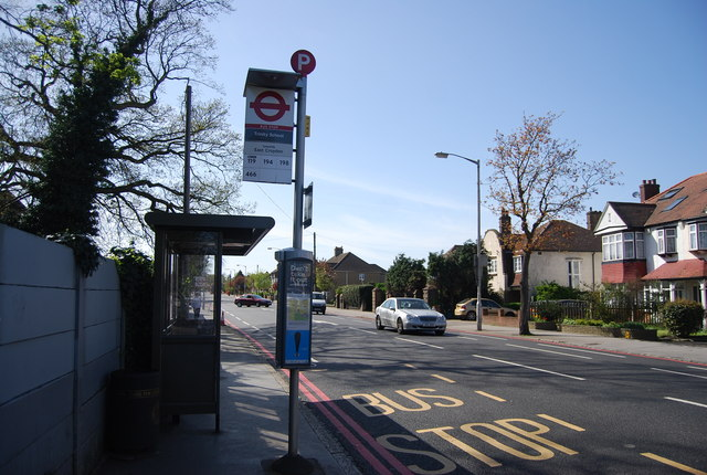 Bus Stop, Addiscombe Rd