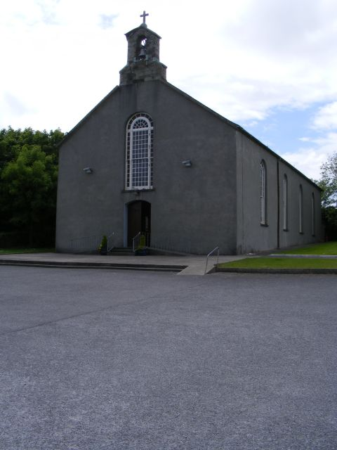 Church on the west side of R596 - Fahouragh Townland