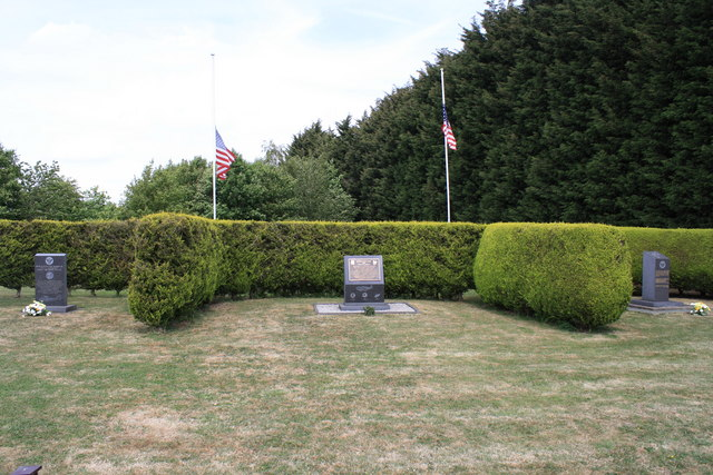 Memorials at Halesworth Airfield